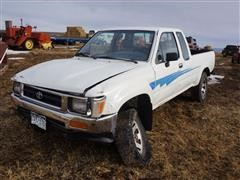 1992 Toyota Tacoma Longbed 4x4 Extended Cab M/T Pickup (INOPERABLE)