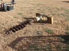 Land Pride SA30 Skid Steer Mount Hydraulic Driven Post Hole Digger