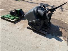 2014 John Deere MID Z DFS HPR Mower Rear Hopper W/Blower
