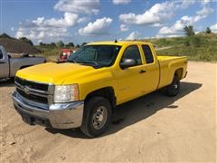 2009 Chevrolet 2500 HD 4x4 Extended Cab Pickup
