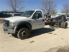2007 Ford F450XL Super Duty 2WD Cab & Chassis