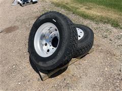 BF Goodrich 275/80R22.5 Tires/Rims