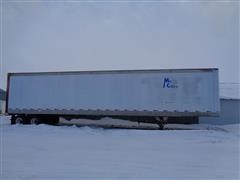 1988 Great Dane 7311TJW 48' T/A Dry Van Storage Trailer