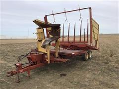 New Holland 1037 Stacker Wagon