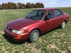 1995 Toyota Corolla 4 Door Sedan
