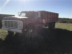 1974 Ford F600 Custom S/A Grain Truck