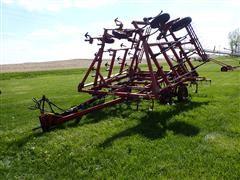 International 4600 28' Field Cultivator W/Nobles 3 Bar Harrow