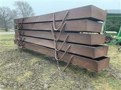 Elk Creek Welding Steel Feed Bunks