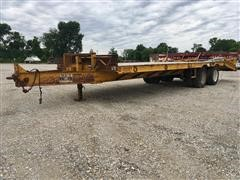 1993 CZ Engineering CZ20KT T/A Flatbed Trailer