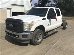 2011 Ford F250 4x4 Crew Cab & Chassis