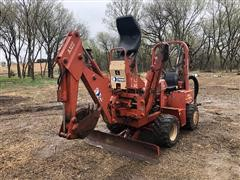 2000 DitchWitch 3700 4x4 Trencher W/H313 Backhoe