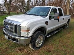 2008 Ford F350 Super Duty 4x4 Crew Cab Pickup (INOPERABLE)