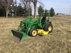 1995 John Deere 955 Compact Utility Tractor