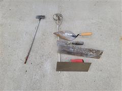 Concrete Masonry Tools