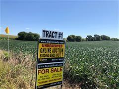 Tract 1:  39.96+/- Acres Platte County, NE