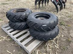 Goodyear 8-16 Tires On Rims