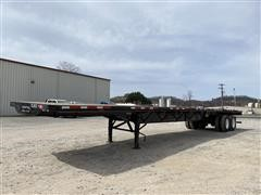 2020 Transcraft 554 S T/A Flatbed Trailer