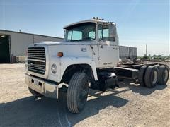 1986 Ford LT8000 T/A Cab & Chassis