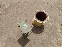 John Deere 3800 Spout Extension & Wheel Extension