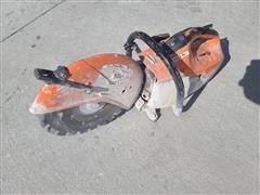 Stihl TS420 Portable Concrete Saw