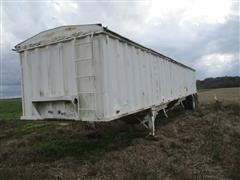 1985 C P S TSH 42 T/A Hopper Bottom Trailer