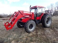 1991 Case IH 5140 MFWD Tractor W/510 Loader