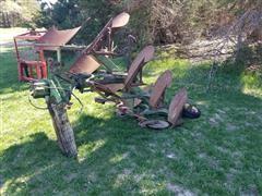 John Deere 4 Bottom Spinner Plow