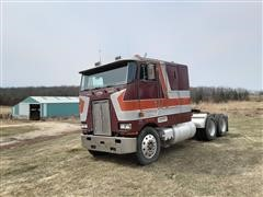 1985 Peterbilt 362 T/A Cabover Truck Tractor