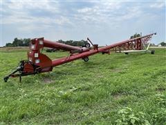 """Farm King 141'X22"""" Auger W/Swing Out Hopper"""