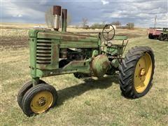 1949 John Deere Model A 2WD Tractor