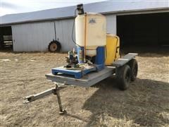 Agri-Inject Mobile Injection System On Homemade Trailer