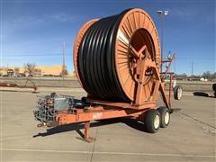 ABI Irrigation Traveling Volume Gun W/Trailer Mtd Hose Reel