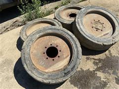 Trelleborg Brawler Solid Skid Steer Tires