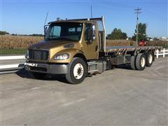 2014 Freightliner M2 106 T/A Flatbed Dump Truck