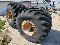Goodyear 66 X 43.00 - 25 Tires & Rims