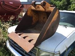 Backhoe Flat Digging Bucket