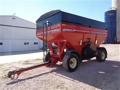 Unverferth Brent 757 Gravity Flow 750 Bushel Harvest Wagon