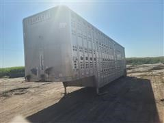 1991 Wilson Silver Star PSDCL-302 Aluminum T/A Livestock Trailer