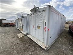2003 Stamford 225 Kw Skid Mounted (Housed) Generator Set W/Detroit Series 50 Power Unit