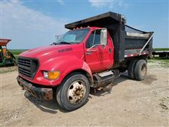 2001 Ford F650 S/A Dump Truck