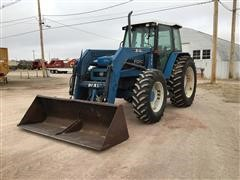 1993 Ford 7740 MFWD Tractor W/Loader