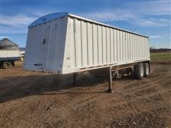 1995 Jet 28' T/A Hopper Grain Trailer