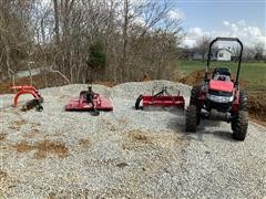 2015 Mahindra 26XL MFWD Tractor W/implements