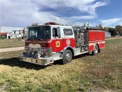 1974 Mack CF-600 Fire Truck