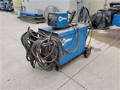 Miller CV-DC Welding Power Source W/Model 24A Wire Feeder