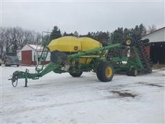2000 John Deere 1860/1900 42' Air Seeder W/Air Cart