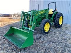 2013 John Deere 5085E MFWD Tractor W/Loader