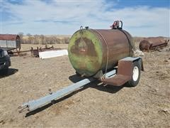 Shop Built Fuel Trailer