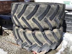 Mitas AC65 710/70R38 AC65 Floater Tires/Rims