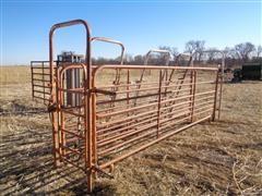 Daniels 8 Bar Heavy Duty Alley Panels W/Adjustable Alley Arch & End Gates